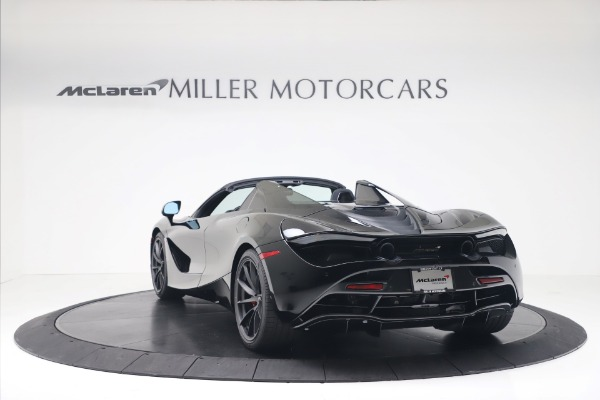 New 2020 McLaren 720S Spider Convertible for sale $383,090 at Bentley Greenwich in Greenwich CT 06830 4