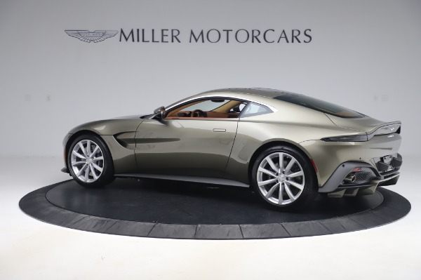 New 2020 Aston Martin Vantage Coupe for sale $180,450 at Bentley Greenwich in Greenwich CT 06830 3
