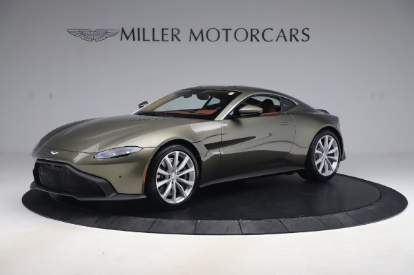 New 2020 Aston Martin Vantage Coupe for sale $180,450 at Bentley Greenwich in Greenwich CT 06830 1