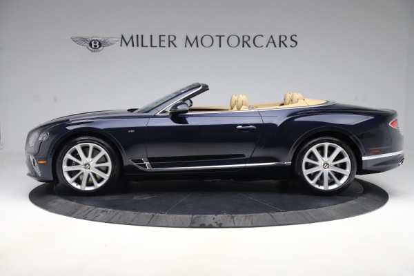 New 2020 Bentley Continental GTC V8 for sale $262,475 at Bentley Greenwich in Greenwich CT 06830 2