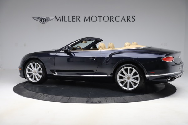 New 2020 Bentley Continental GTC V8 for sale $262,475 at Bentley Greenwich in Greenwich CT 06830 3