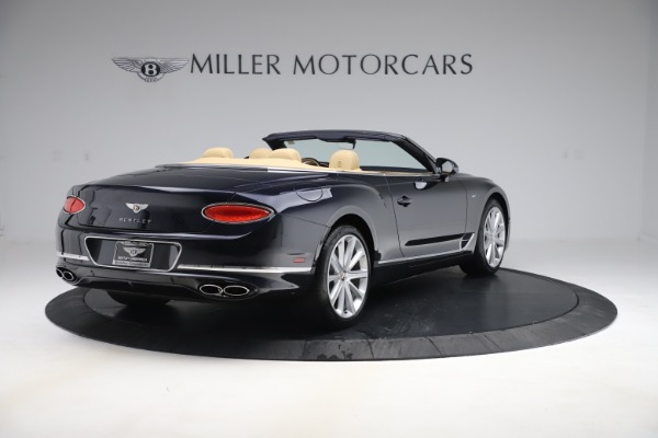 New 2020 Bentley Continental GTC V8 for sale $262,475 at Bentley Greenwich in Greenwich CT 06830 6
