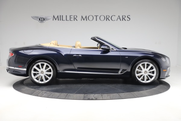 New 2020 Bentley Continental GTC V8 for sale $262,475 at Bentley Greenwich in Greenwich CT 06830 8