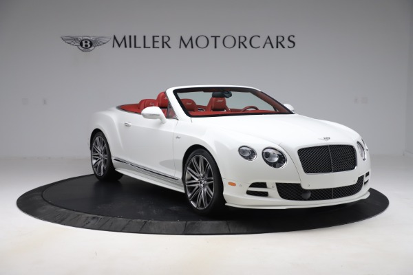 Used 2015 Bentley Continental GTC Speed for sale $129,900 at Bentley Greenwich in Greenwich CT 06830 11