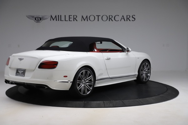 Used 2015 Bentley Continental GTC Speed for sale $129,900 at Bentley Greenwich in Greenwich CT 06830 16