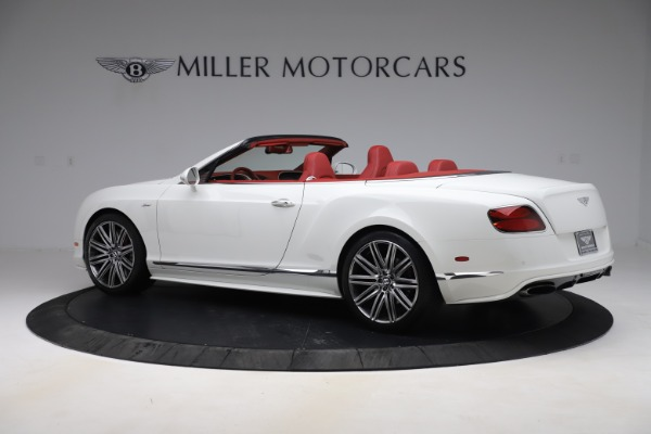 Used 2015 Bentley Continental GTC Speed for sale $129,900 at Bentley Greenwich in Greenwich CT 06830 4