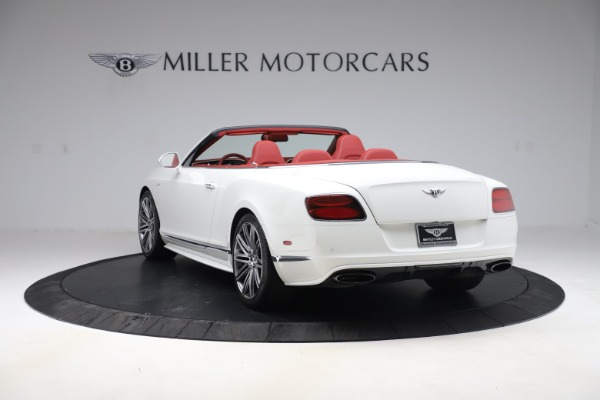 Used 2015 Bentley Continental GTC Speed for sale $129,900 at Bentley Greenwich in Greenwich CT 06830 5