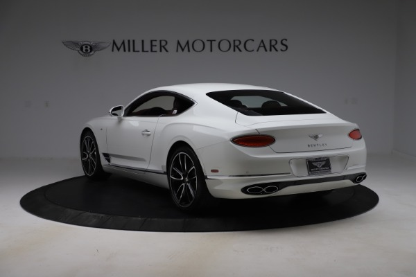 New 2020 Bentley Continental GT V8 for sale $261,360 at Bentley Greenwich in Greenwich CT 06830 6