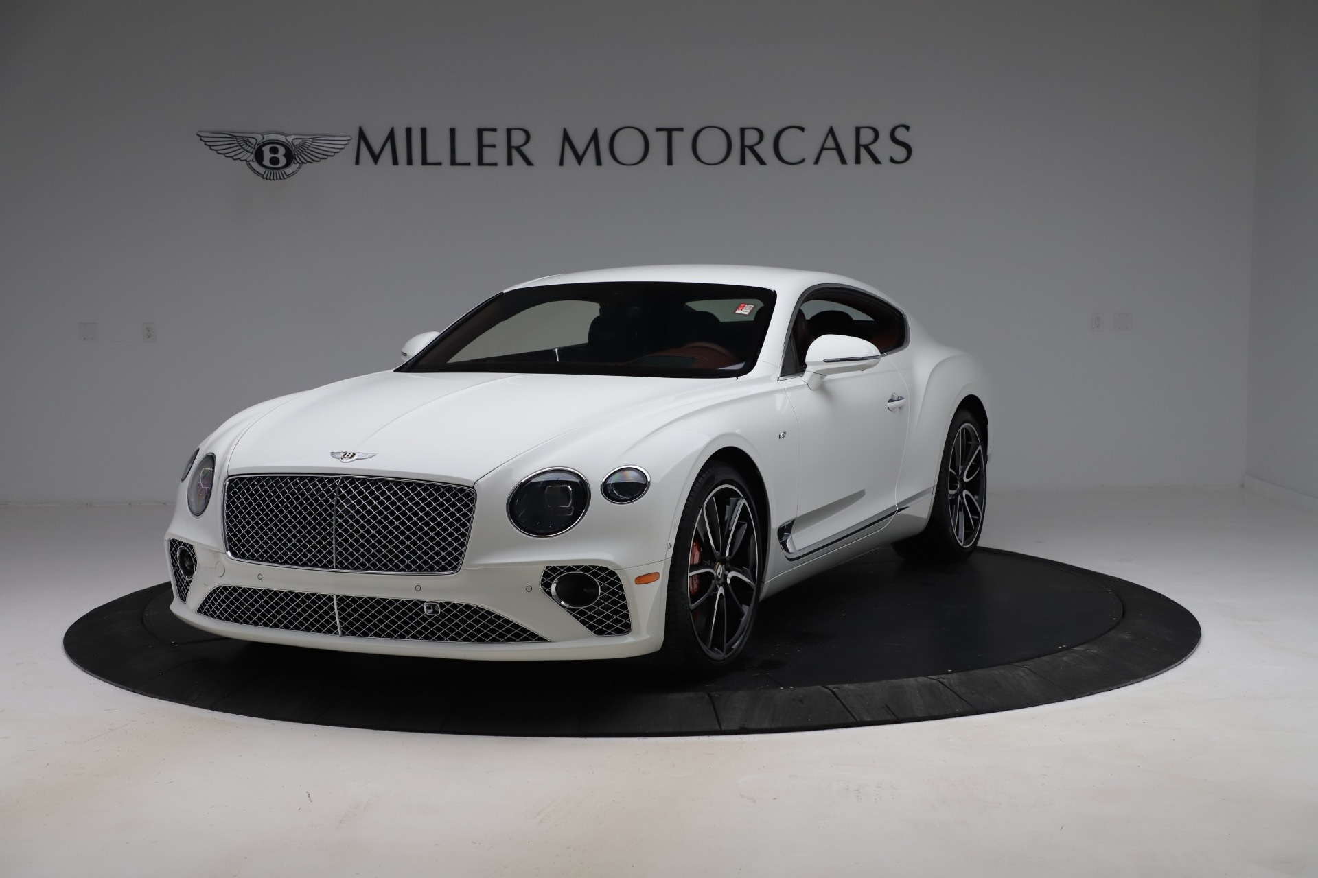 New 2020 Bentley Continental GT V8 for sale $261,360 at Bentley Greenwich in Greenwich CT 06830 1