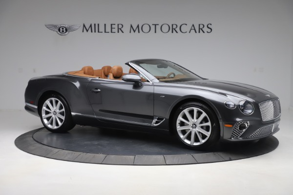 New 2020 Bentley Continental GTC V8 for sale $266,665 at Bentley Greenwich in Greenwich CT 06830 10