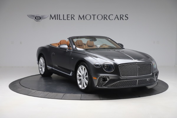 New 2020 Bentley Continental GTC V8 for sale $266,665 at Bentley Greenwich in Greenwich CT 06830 11