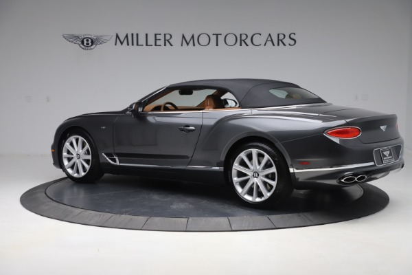 New 2020 Bentley Continental GTC V8 for sale $266,665 at Bentley Greenwich in Greenwich CT 06830 18
