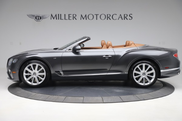 New 2020 Bentley Continental GTC V8 for sale $266,665 at Bentley Greenwich in Greenwich CT 06830 3