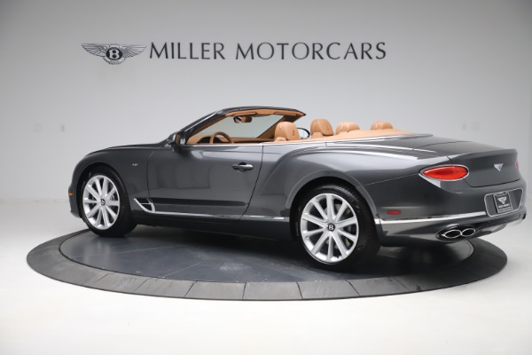 New 2020 Bentley Continental GTC V8 for sale $266,665 at Bentley Greenwich in Greenwich CT 06830 4