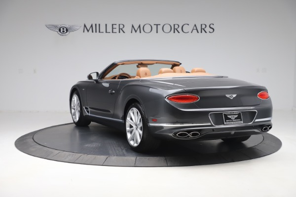 New 2020 Bentley Continental GTC V8 for sale $266,665 at Bentley Greenwich in Greenwich CT 06830 5