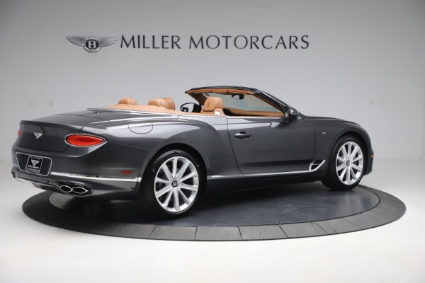New 2020 Bentley Continental GTC V8 for sale $266,665 at Bentley Greenwich in Greenwich CT 06830 8