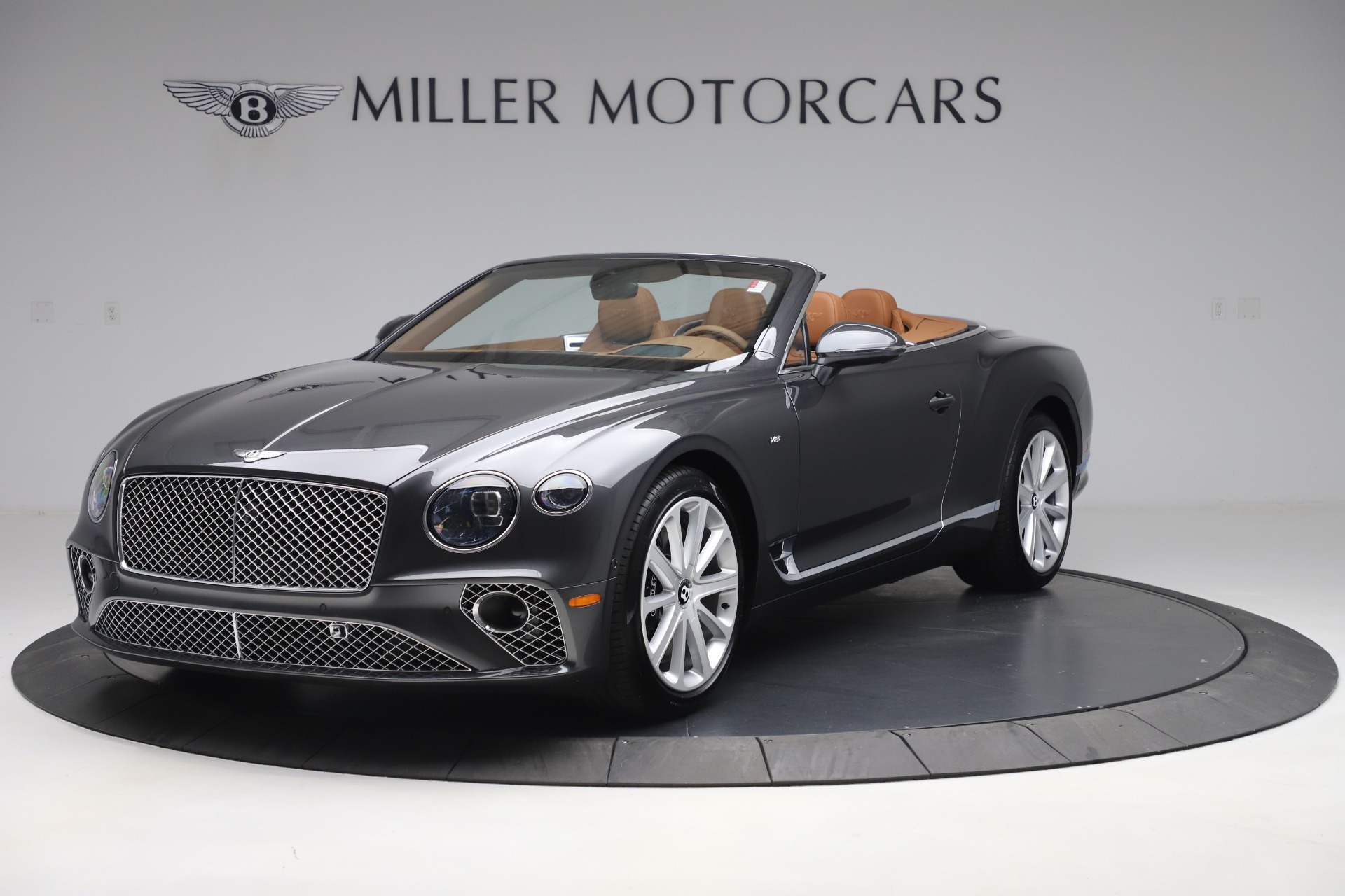New 2020 Bentley Continental GTC V8 for sale $266,665 at Bentley Greenwich in Greenwich CT 06830 1