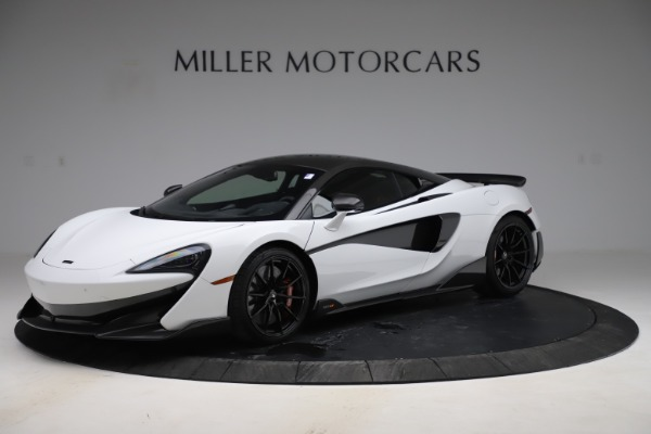 Used 2019 McLaren 600LT Coupe for sale $219,900 at Bentley Greenwich in Greenwich CT 06830 1