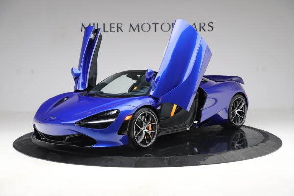 New 2020 McLaren 720S Spider Convertible for sale $364,090 at Bentley Greenwich in Greenwich CT 06830 10