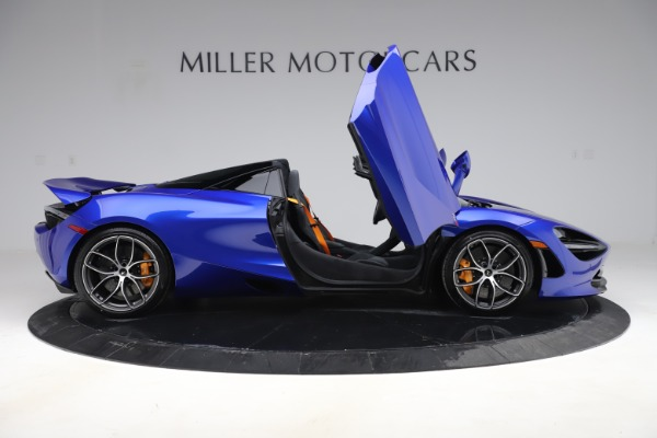 New 2020 McLaren 720S Spider Convertible for sale $364,090 at Bentley Greenwich in Greenwich CT 06830 15