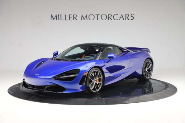 New 2020 McLaren 720S Spider Convertible for sale $364,090 at Bentley Greenwich in Greenwich CT 06830 18