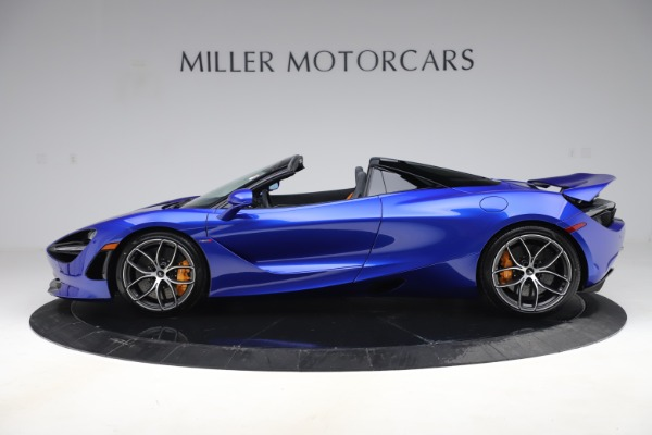 New 2020 McLaren 720S Spider Convertible for sale $364,090 at Bentley Greenwich in Greenwich CT 06830 2