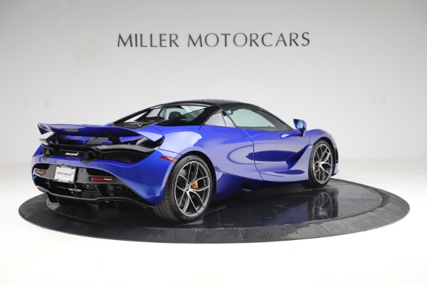 New 2020 McLaren 720S Spider Convertible for sale $364,090 at Bentley Greenwich in Greenwich CT 06830 22
