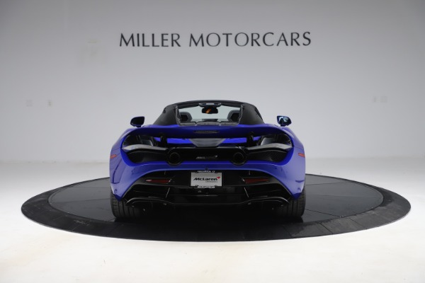 New 2020 McLaren 720S Spider Convertible for sale $364,090 at Bentley Greenwich in Greenwich CT 06830 4