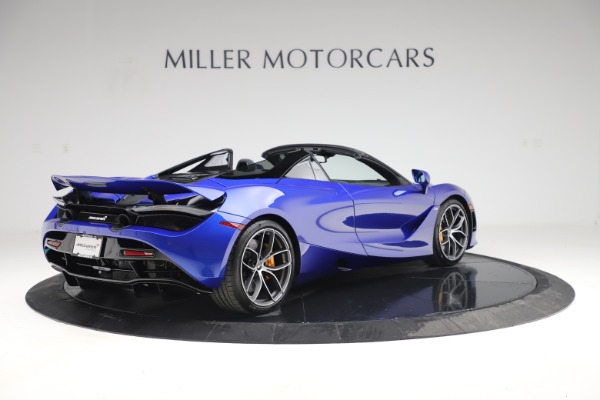 New 2020 McLaren 720S Spider Convertible for sale $364,090 at Bentley Greenwich in Greenwich CT 06830 5
