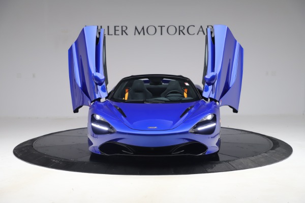 New 2020 McLaren 720S Spider Convertible for sale $364,090 at Bentley Greenwich in Greenwich CT 06830 9