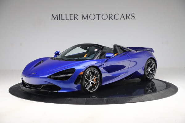 New 2020 McLaren 720S Spider Convertible for sale $364,090 at Bentley Greenwich in Greenwich CT 06830 1