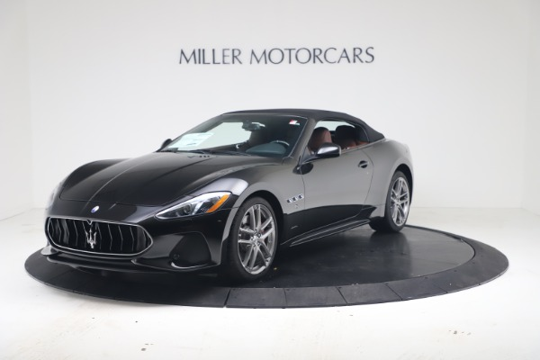 New 2019 Maserati GranTurismo Sport Convertible for sale $165,645 at Bentley Greenwich in Greenwich CT 06830 13