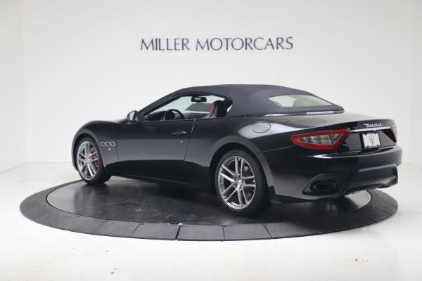 New 2019 Maserati GranTurismo Sport Convertible for sale $165,645 at Bentley Greenwich in Greenwich CT 06830 15
