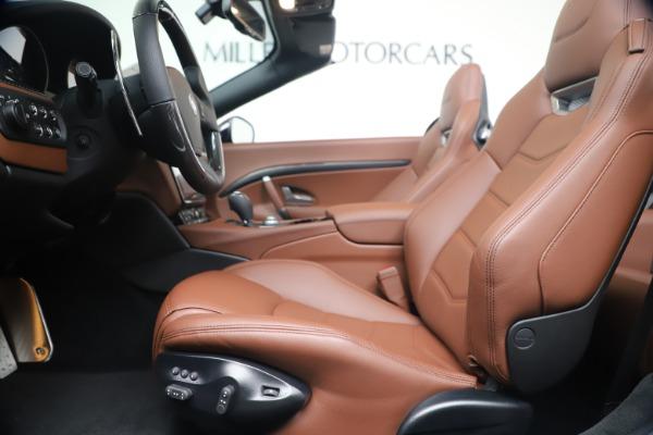 New 2019 Maserati GranTurismo Sport Convertible for sale $165,645 at Bentley Greenwich in Greenwich CT 06830 20