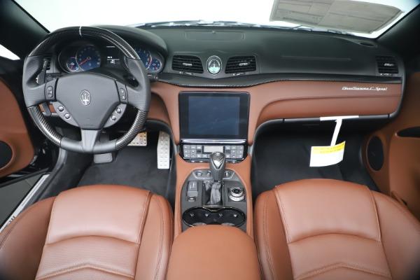 New 2019 Maserati GranTurismo Sport Convertible for sale $165,645 at Bentley Greenwich in Greenwich CT 06830 22