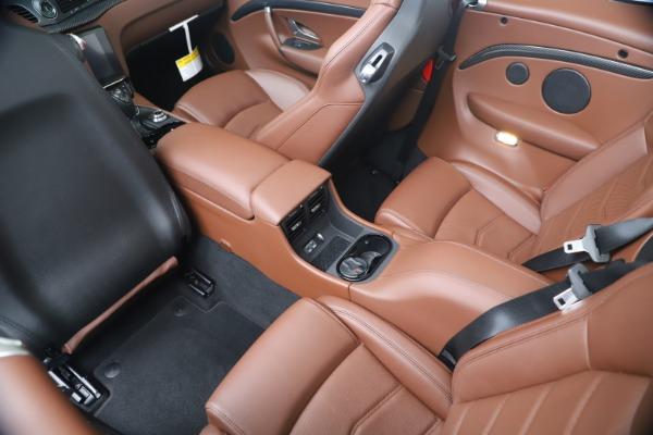 New 2019 Maserati GranTurismo Sport Convertible for sale $165,645 at Bentley Greenwich in Greenwich CT 06830 25