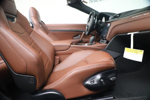 New 2019 Maserati GranTurismo Sport Convertible for sale $165,645 at Bentley Greenwich in Greenwich CT 06830 27