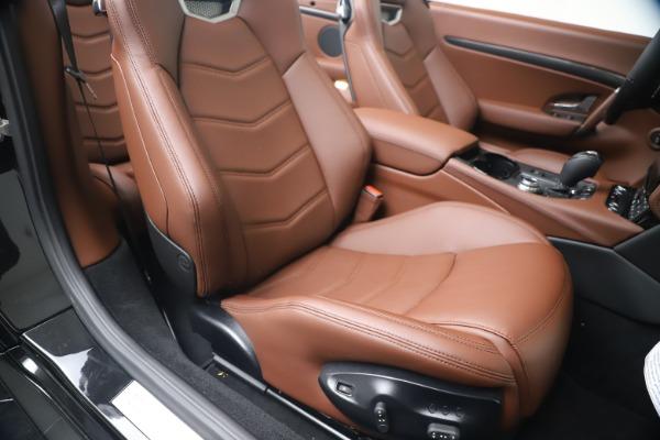 New 2019 Maserati GranTurismo Sport Convertible for sale $165,645 at Bentley Greenwich in Greenwich CT 06830 28