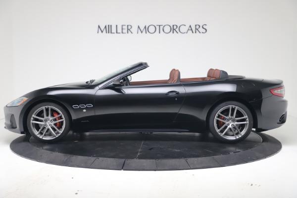 New 2019 Maserati GranTurismo Sport Convertible for sale $165,645 at Bentley Greenwich in Greenwich CT 06830 3