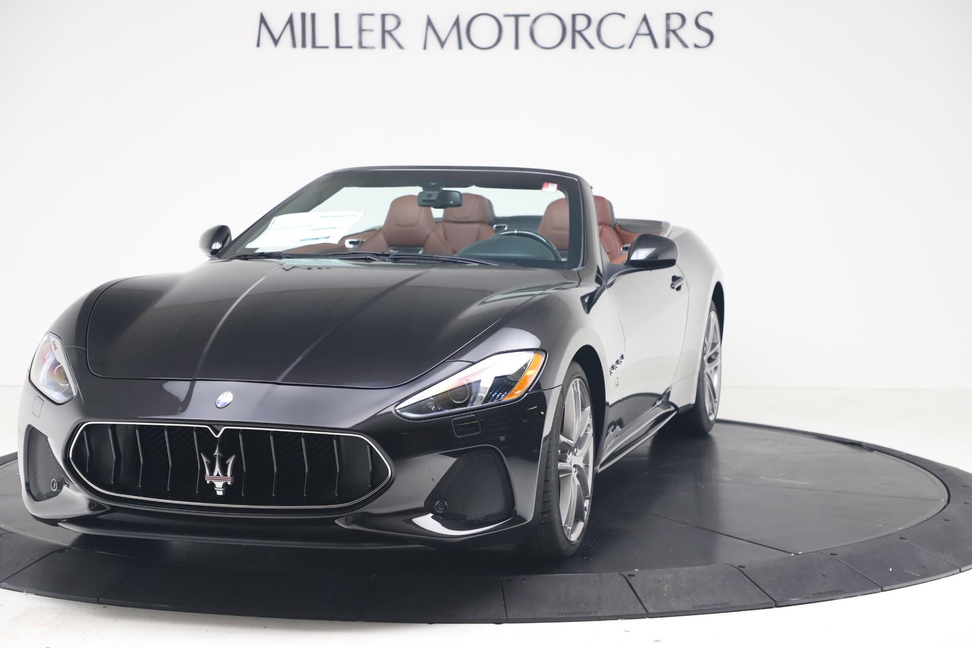 New 2019 Maserati GranTurismo Sport Convertible for sale $165,645 at Bentley Greenwich in Greenwich CT 06830 1