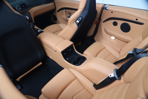 New 2019 Maserati GranTurismo Sport Convertible for sale $172,060 at Bentley Greenwich in Greenwich CT 06830 25