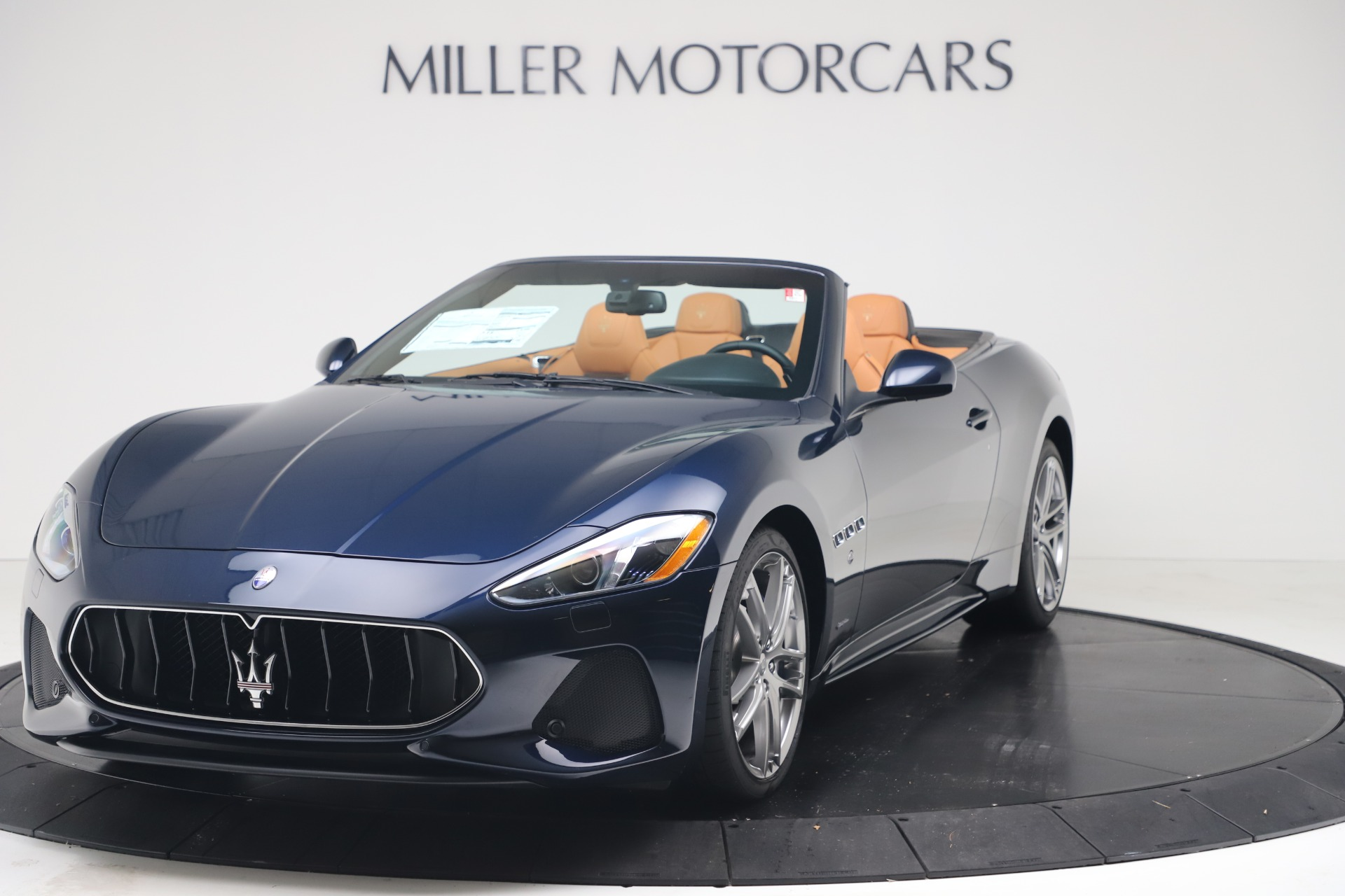 New 2019 Maserati GranTurismo Sport Convertible for sale $172,060 at Bentley Greenwich in Greenwich CT 06830 1
