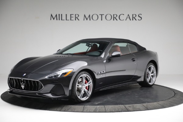 New 2019 Maserati GranTurismo Sport Convertible for sale $165,340 at Bentley Greenwich in Greenwich CT 06830 13