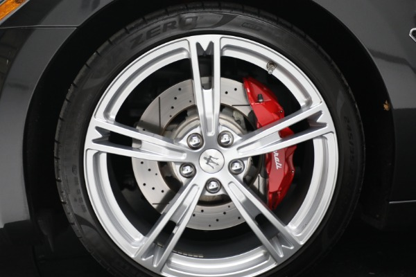 New 2019 Maserati GranTurismo Sport Convertible for sale $165,340 at Bentley Greenwich in Greenwich CT 06830 24