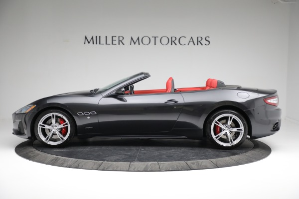 New 2019 Maserati GranTurismo Sport Convertible for sale $165,340 at Bentley Greenwich in Greenwich CT 06830 3