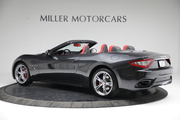 New 2019 Maserati GranTurismo Sport Convertible for sale $165,340 at Bentley Greenwich in Greenwich CT 06830 4