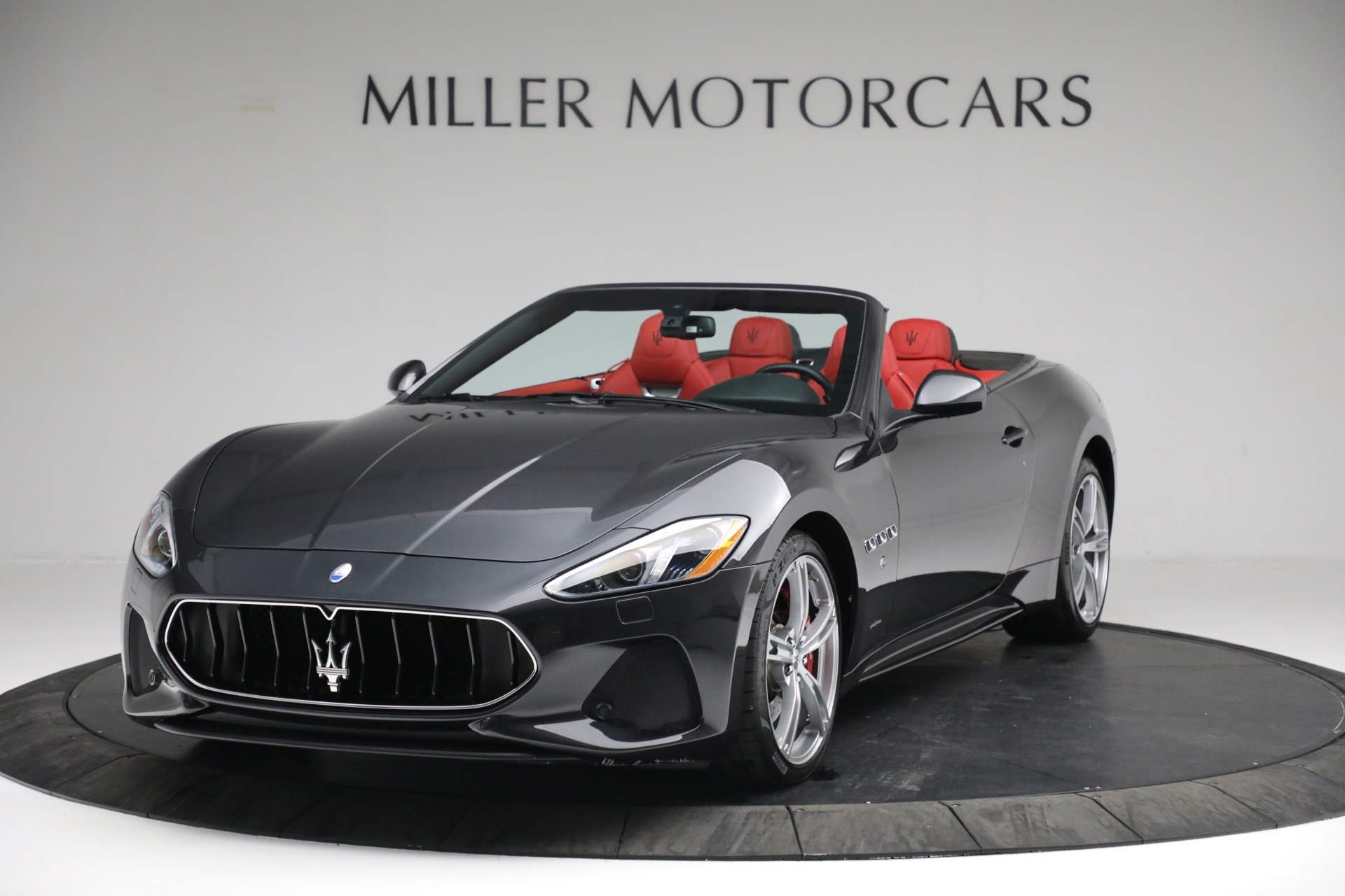 New 2019 Maserati GranTurismo Sport Convertible for sale Sold at Bentley Greenwich in Greenwich CT 06830 1