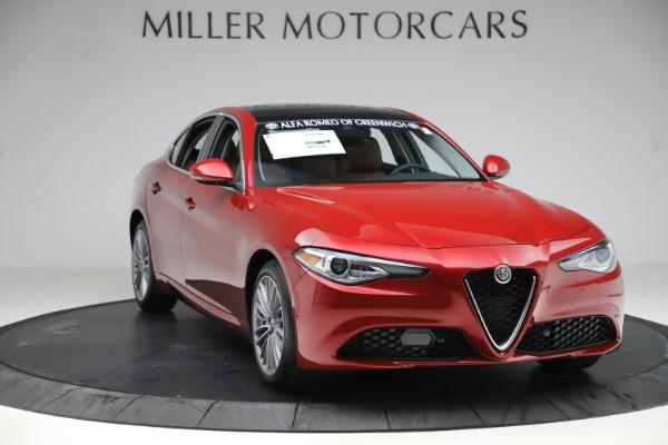 New 2019 Alfa Romeo Giulia Ti Lusso Q4 for sale $54,790 at Bentley Greenwich in Greenwich CT 06830 11
