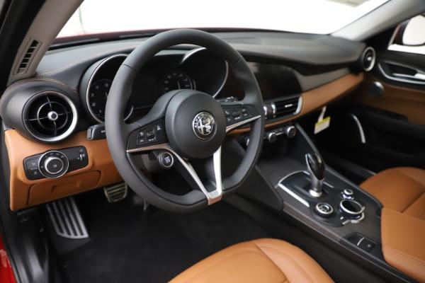 New 2019 Alfa Romeo Giulia Ti Lusso Q4 for sale $54,790 at Bentley Greenwich in Greenwich CT 06830 13