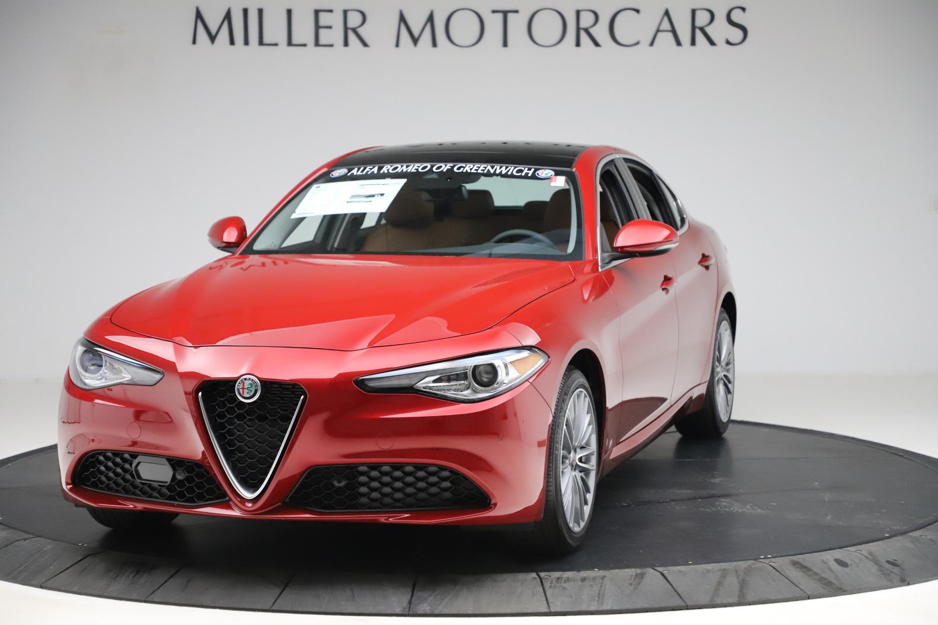 New 2019 Alfa Romeo Giulia Ti Lusso Q4 for sale $54,790 at Bentley Greenwich in Greenwich CT 06830 1